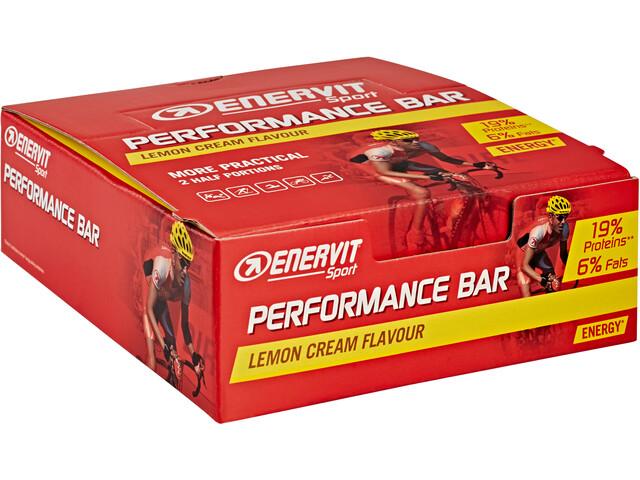 Enervit Sport Performance Bar Box 28x30+30g, Lemon Cream